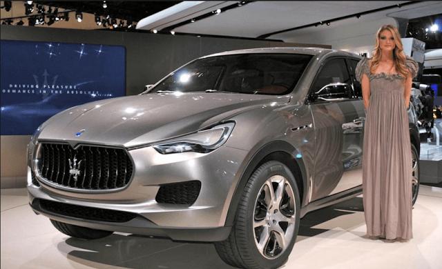 2017 Maserati Levante Redesign
