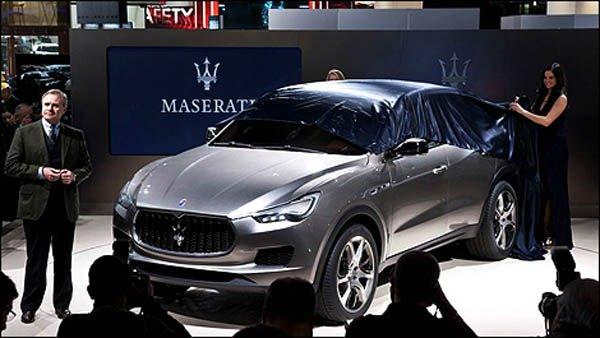 2017 Maserati Levante Release