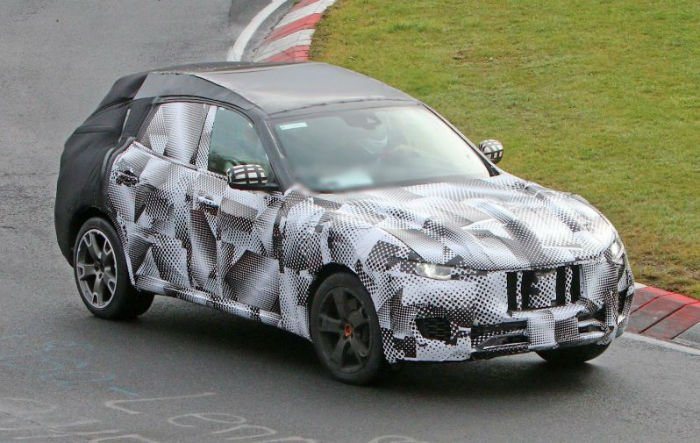 2017 Maserati Levante Spy Photos