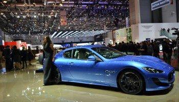 2017 Maserati Quattroporte Blue