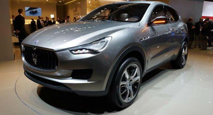 2017 Maserati SUV Model