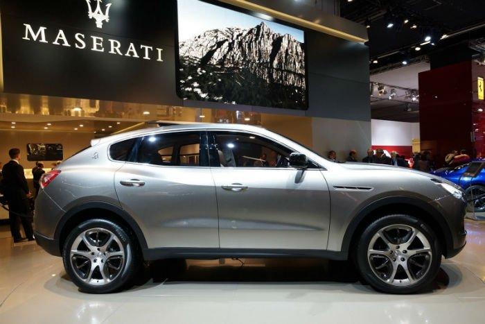 2017 Maserati SUV Release