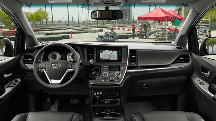 2016 Toyota Sienna SE Interior