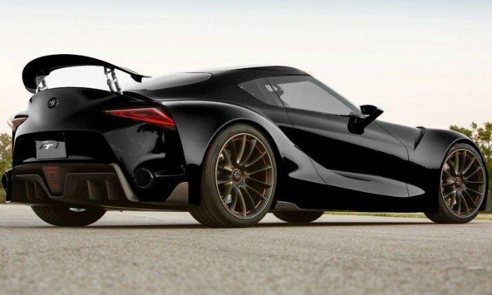 2016 Toyota Supra Black