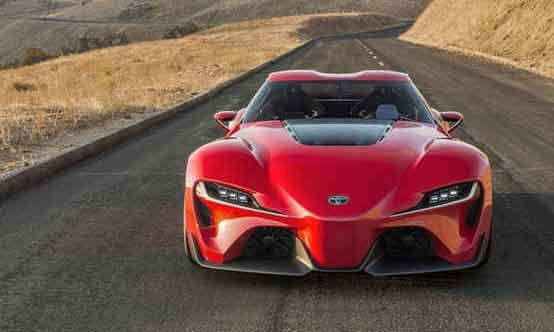2016 Toyota Supra Facelift