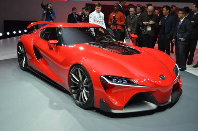 2016 Toyota Supra Model