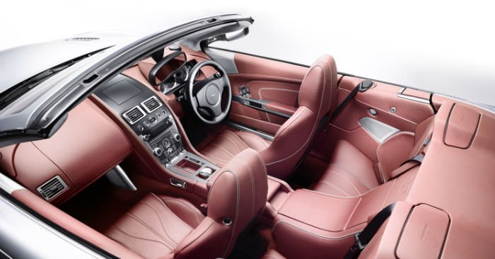 2017 Aston Martin DB9 Interior