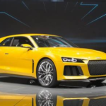 2017 Audi A5 Yellow Color