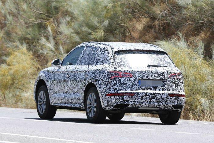 2017 Audi Q5 Spy Shots
