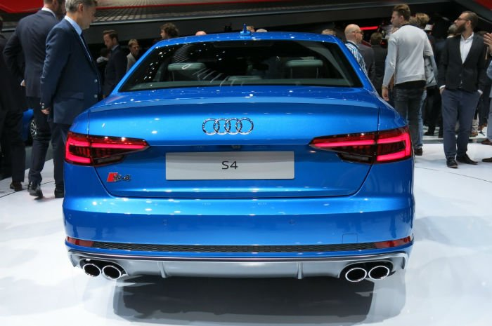 2017 Audi S4 Exhaust