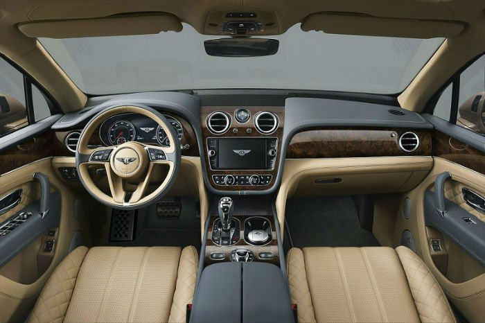 2017 Bentley Continental GT Interior