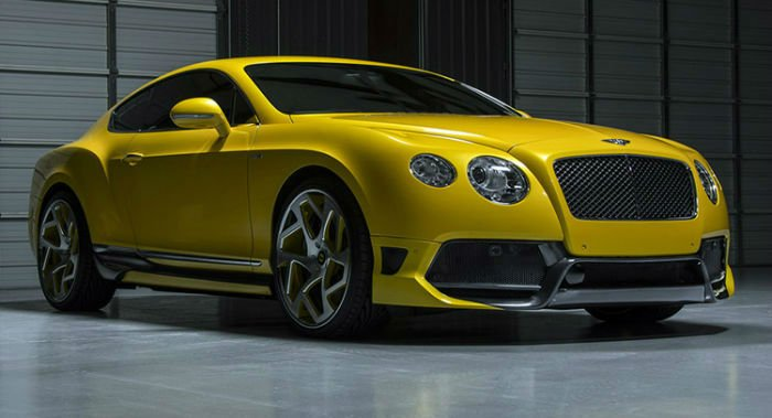 2017 Bentley Coupe Model