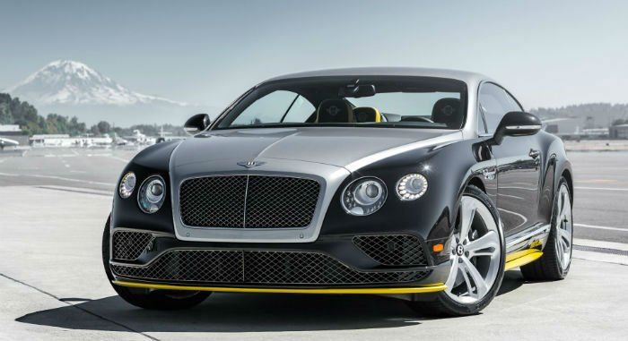 2017 Bentley Coupe Redesign