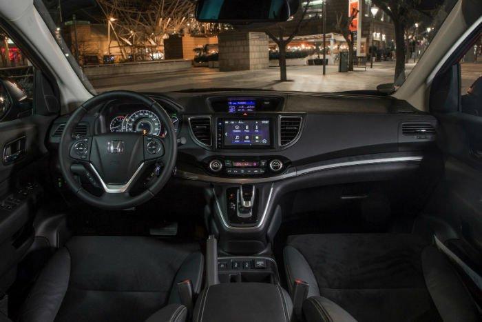 Honda Crv Hybrid Usa >> 2017 Honda CR-V Hybrid Interior