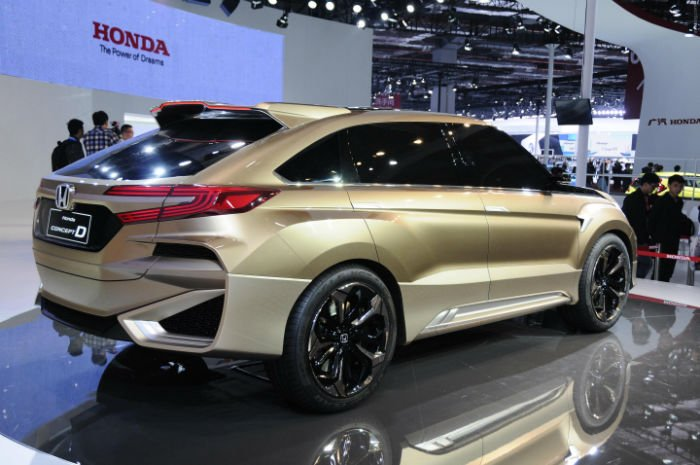 2017 Honda CRV Concept