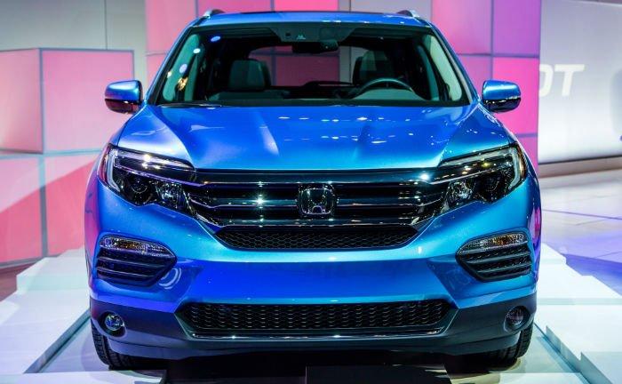 2017 Honda Pilot Facelift