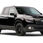 2017 Honda Ridgeline Black Color