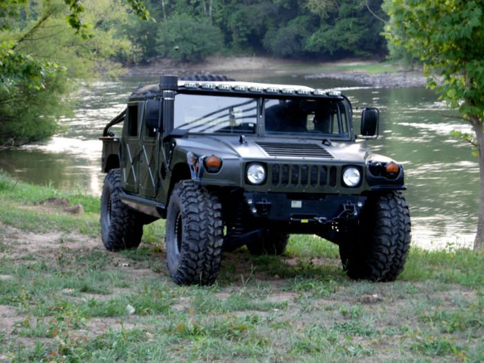 2017 Hummer H1 Black Exterior