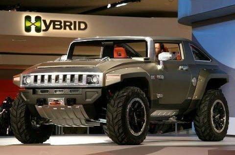 2017 Hummer H1 Hybrid
