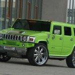 2017 Hummer H2 Green