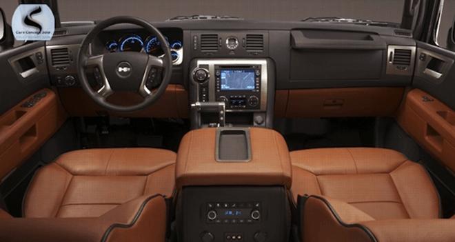 2017 Hummer H2 Interior