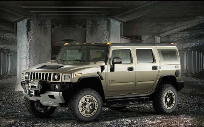 2017 Hummer H2 Military