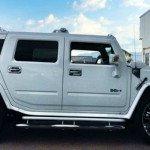 2017 Hummer H2 White