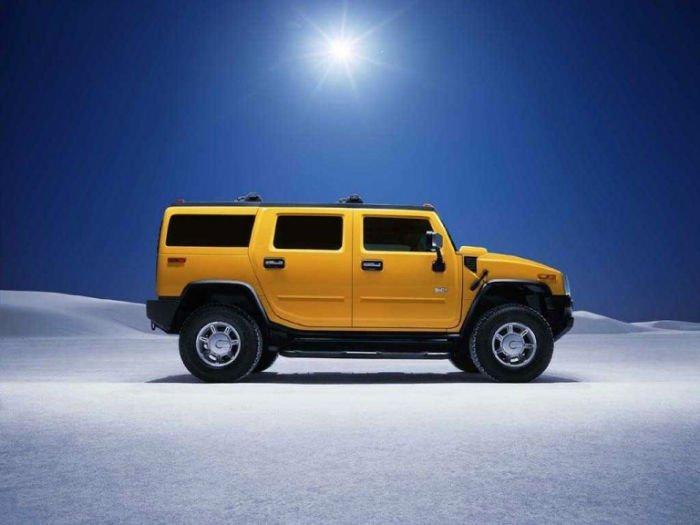2017 Hummer H2 Yellow