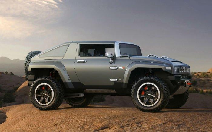 2017 Hummer H3 Concept