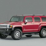 2017 Hummer H3 Red Color
