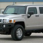 2017 Hummer H3 Silver