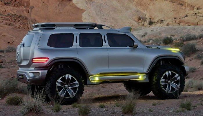 2017 Hummer H3 lights