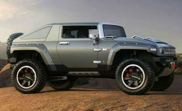 2017 Hummer H4 Concept