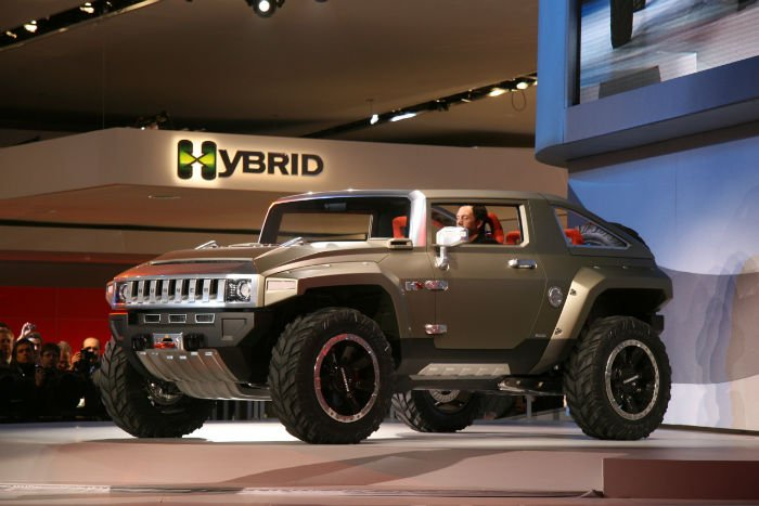 2017 Hummer H4 Hybrid