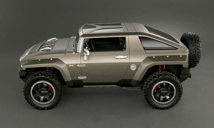 2017 Hummer H4 Lifted Exterior