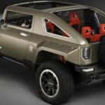 2017 Hummer H4 Redesign
