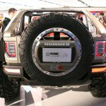 2017 Hummer HX Back Wheel