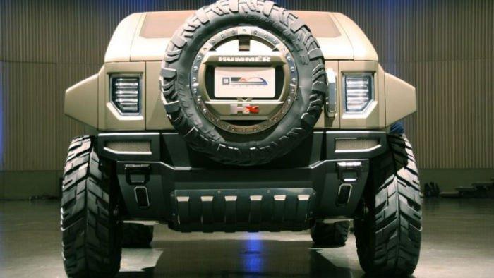 2017 Hummer HX Concept Exterior