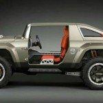 2017 Hummer HX Concept Model