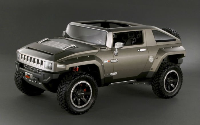 2017 Hummer HX Concept Redesign