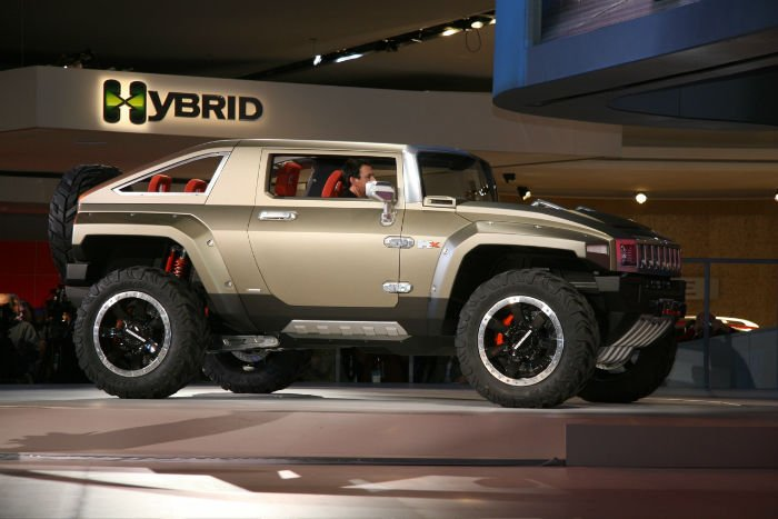 2017 Hummer HX Hybrid