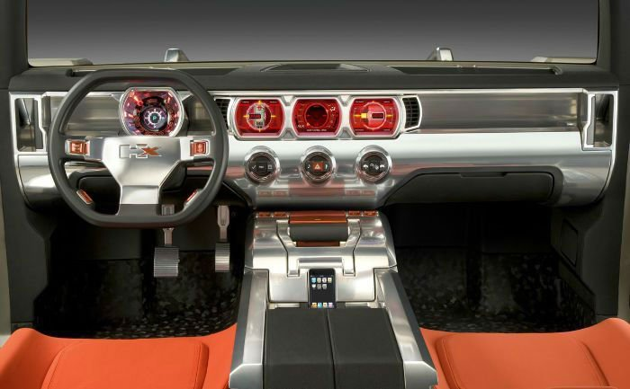 2017 Hummer HX Interior