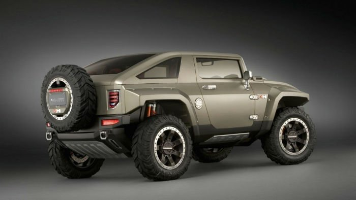 2017 Hummer HX Redesign