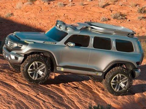 2017 Hummer Truck Concept