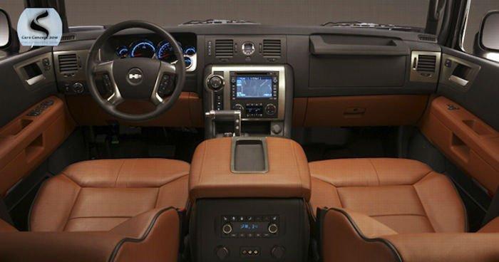 2017 Hummer Truck Interior