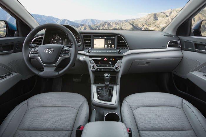 2017 Hyundai Elantra Limited Interior