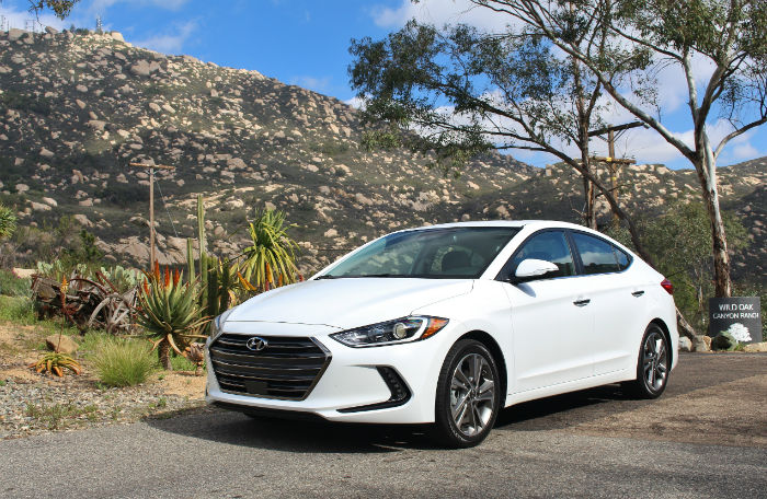 2017 Hyundai Elantra Limited Model