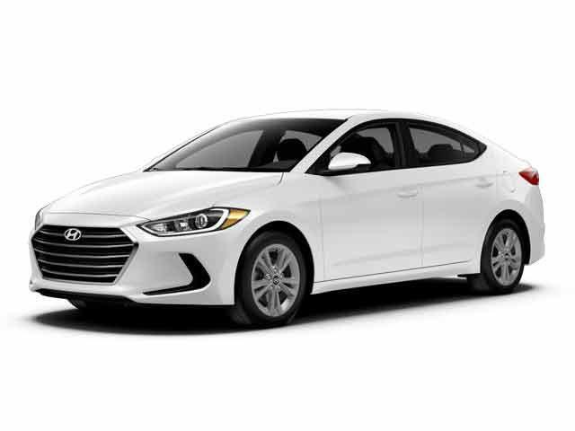 2017 Hyundai Elantra Limited White