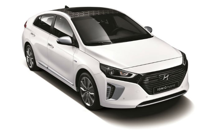 2017 Hyundai Ioniq Roof