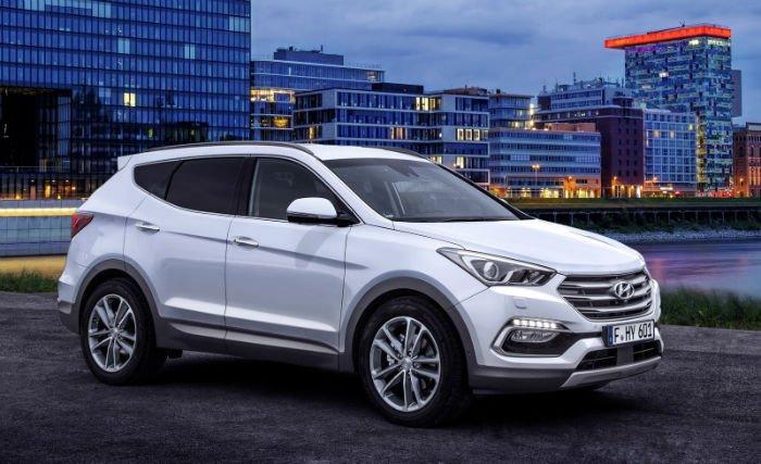 2017 Hyundai Santa FE Limited Colors